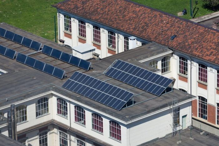 solar panels for companies