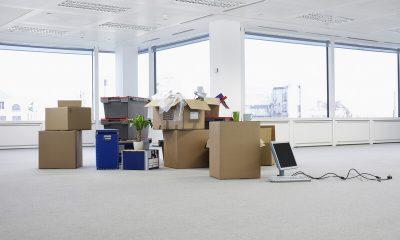 lege kantoorruimten