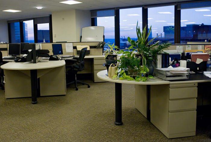 lege kantoorruimten gebruiken