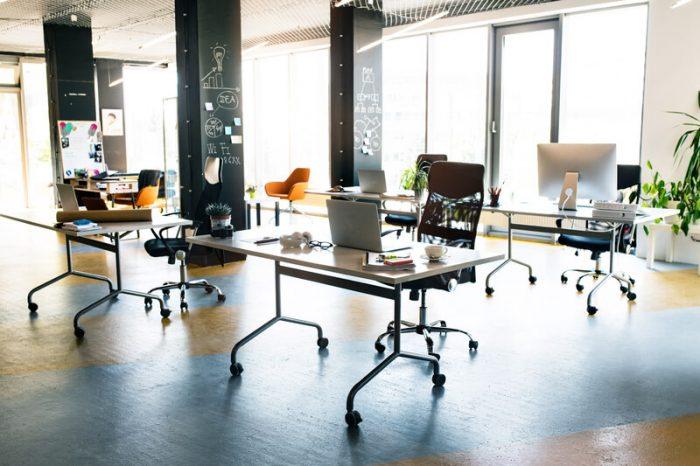 lege kantoorruimten invullen